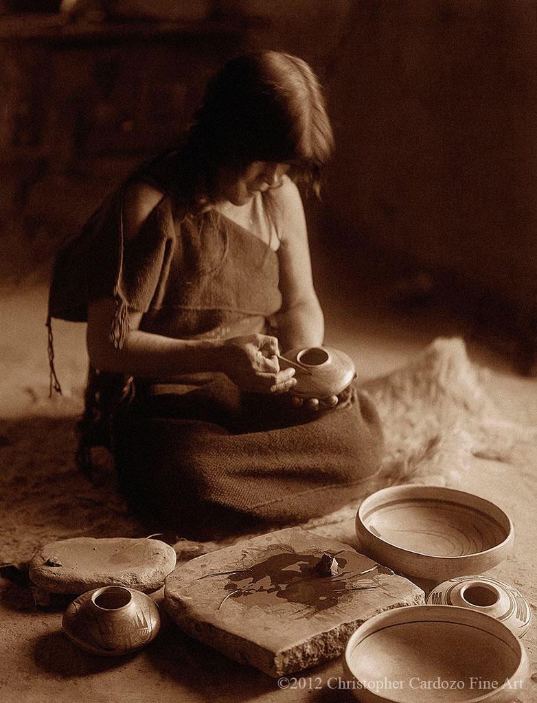 The potter - Hopi(Nampeyo)