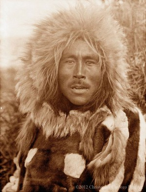 Unpublished (Alaskan male portrait) - unknown