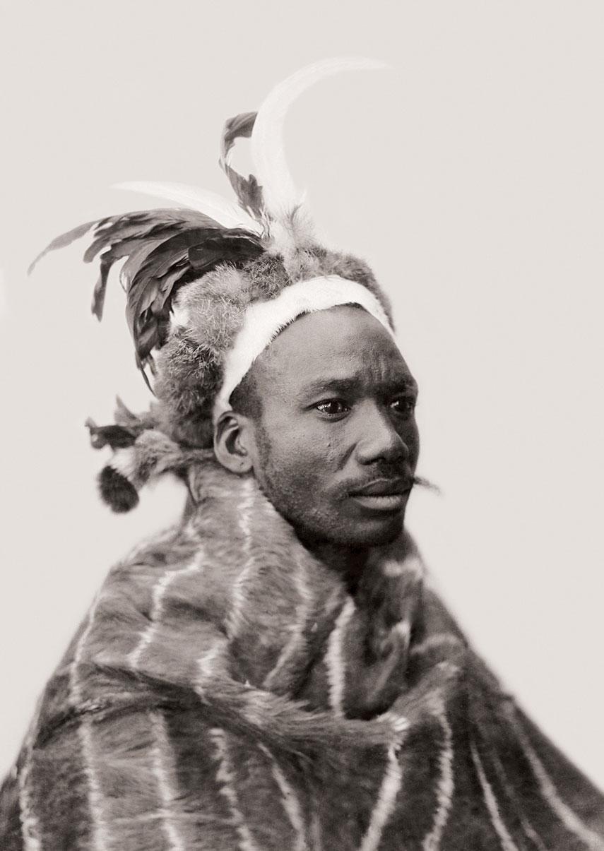 Mpondomise Chief Isaac Matiwana, Qumbu. (Duggan-Cronin, 2007. Pg. 21 Plate 5)