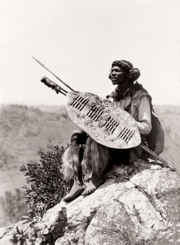 Ben Mdiliza, Shangaan warrior, Thabina, Limpopo. (Duggan-Cronin, 2007. Pg. 25, Plate 3)